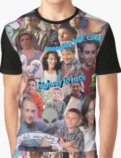 Malcolm In The Middle  Graphic T-Shirt