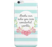 Wonderful Worlds iPhone Case/Skin