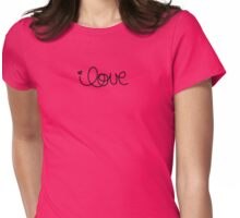 Love is not a losing game Womens Fitted T-Shirt