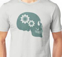 Skull Gears Turnin' Unisex T-Shirt