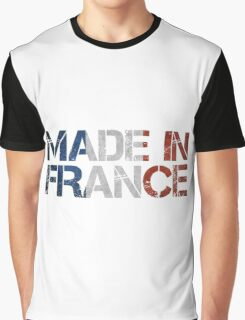 France French Flag Graphic T-Shirt