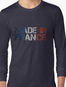 France French Flag Long Sleeve T-Shirt
