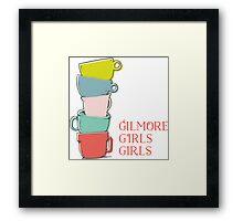 Gilmore girls-coffee Framed Print