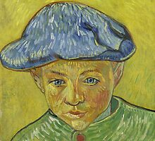 Vincent Van Gogh - Portrait of Camille Roulin, November 1888 - December 1888 by famousartworks