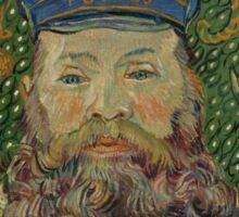 Vincent Van Gogh - Portrait of Joseph Roulin, 1889 Sticker