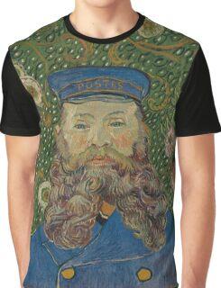Vincent Van Gogh - Portrait of Joseph Roulin, 1889 Graphic T-Shirt