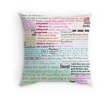 The Office Quotes Throw Pillow