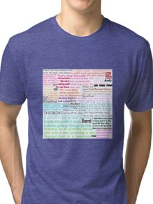 The Office Quotes Tri-blend T-Shirt
