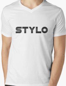 Stylo - Gorillaz like Mens V-Neck T-Shirt