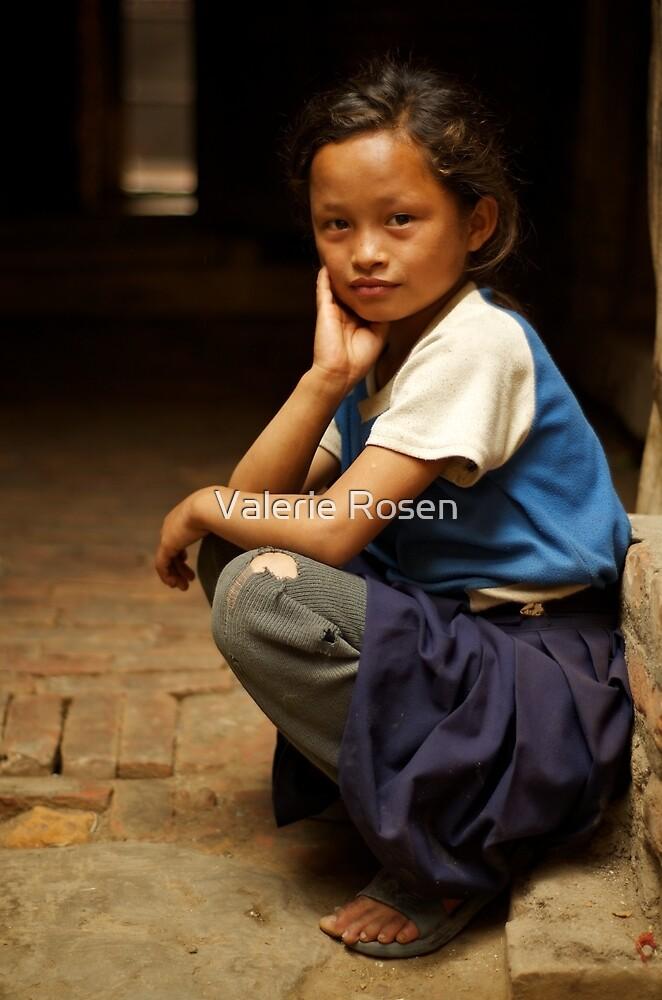 Nine Years Old Going on 29 by Valerie Rosen