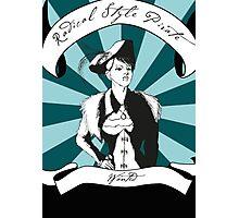 Radical Style Pirate Steampunk Photographic Print