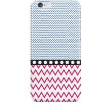 Geometric Pattern - Blackberry and Strawberry iPhone Case/Skin