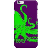 Neon Octopus iPhone Case/Skin