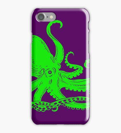 Neon Octopus iPhone Case/Skin