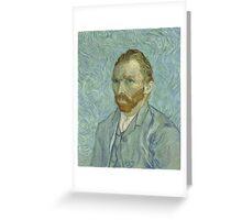Vincent Van Gogh - Self-Portrait 2, 1889 Greeting Card