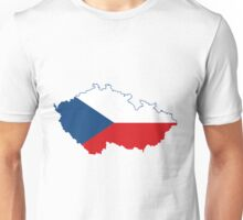 Czech Republic flag Unisex T-Shirt