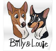 Billy and Louie - Custom Poster