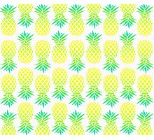 Pineapple Blend Pattern Photographic Print