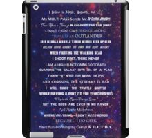 I Do Geek iPad Case/Skin