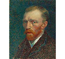 Vincent Van Gogh - Self-Portrait, 1887 Photographic Print