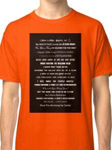 I Do Geek - Version 1 B&W Classic T-Shirt