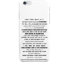 I Do Geek - Version 2 iPhone Case/Skin