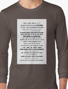 I Do Geek - Version 2 Long Sleeve T-Shirt