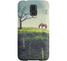 Horse on a Colombian Hillside Samsung Galaxy Case/Skin