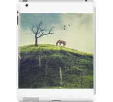 Horse on a Colombian Hillside iPad Case/Skin