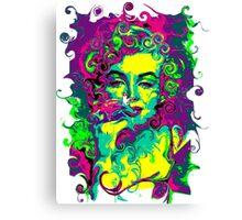 GAUDY AMERICANA - blonde bombshell Canvas Print