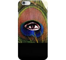 """Eye of the Feather""  iPhone Case/Skin"