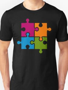 Hipster Puzzle Cool T-Shirts T-Shirt