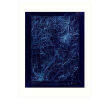 New York NY Saratoga Springs 129387 1934 24000 Inverted Art Print