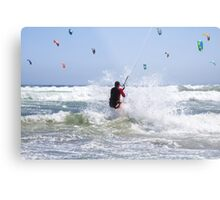 Riding Wind & Waves to Glory Metal Print