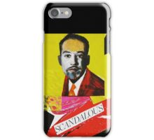 """Langston Hughes - Scandalous""  iPhone Case/Skin"