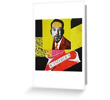 """Langston Hughes - Scandalous""  Greeting Card"