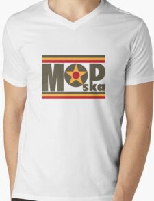 Mod - Ska Mens V-Neck T-Shirt