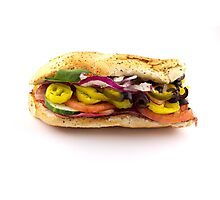 The Works Sandwich Photographic Print