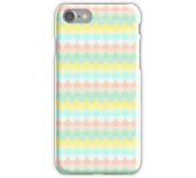 Scallop Pattern Repeat in 'Miami' Pastel Tones 8-Colorway iPhone Case/Skin