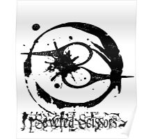 Severed Scissors Logo Poster