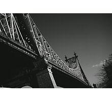 New York City's Queensboro Bridge Photographic Print