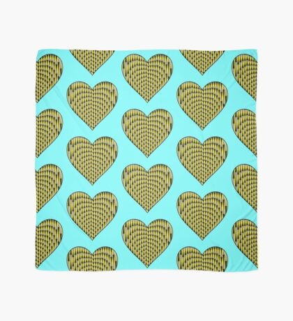 Up & Down Heart Scarf