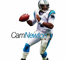 Cam Newton by AlbaGG