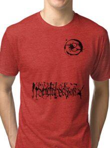 Small Severed Scissors Logo Tri-blend T-Shirt