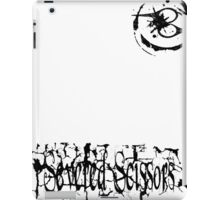 Small Severed Scissors Logo iPad Case/Skin