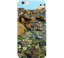 Relax rest on a beach. iPhone Case/Skin