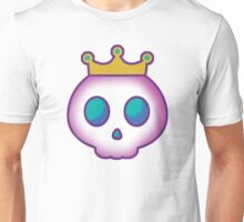 Cute Skull with Crown Unisex T-Shirt