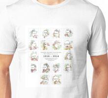 1916 commemorative print: 16 leaders Unisex T-Shirt