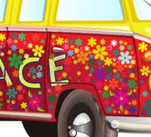 Hippie Van Peace Sticker