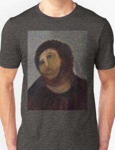 Ecce Homo, Spanish Fresco Restoration Botch Unisex T-Shirt